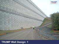 Donald Trump Releases Border Wall Designs - BEAUTIFUL ...
