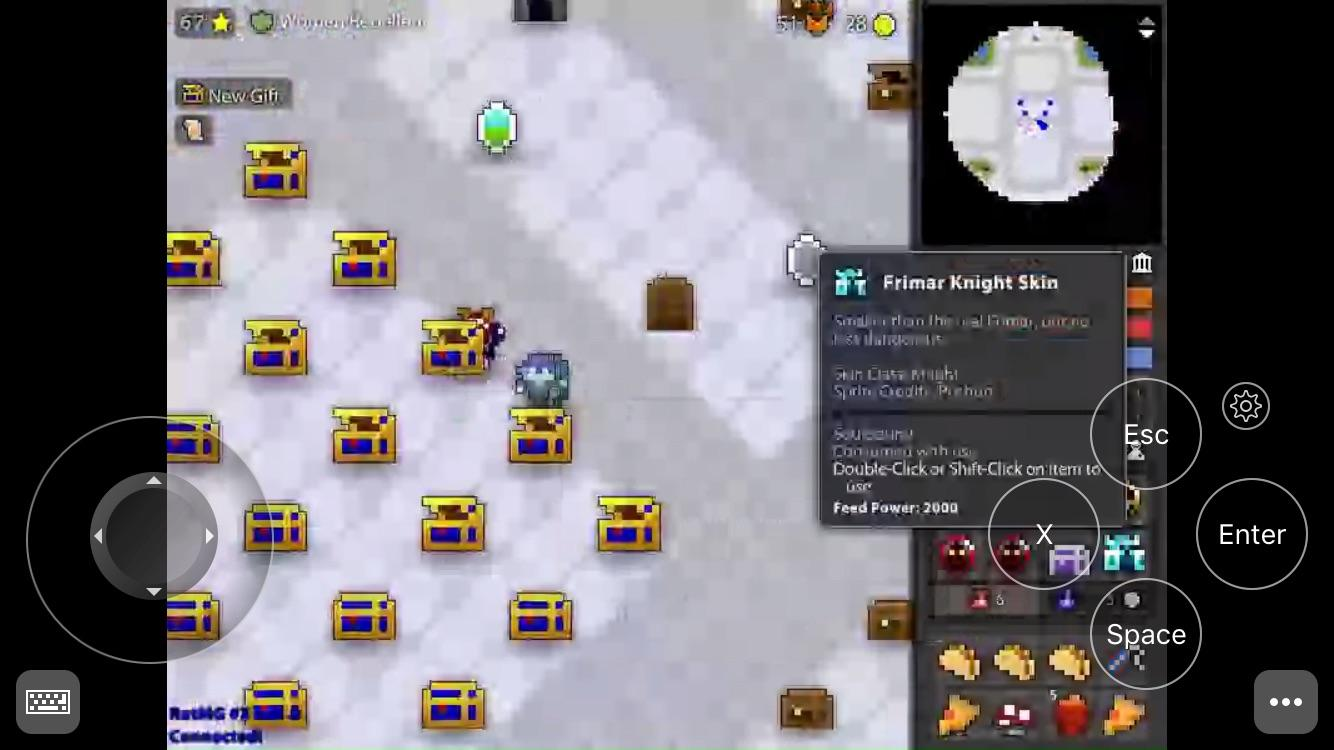 thanksgiving mobile luck rotmg