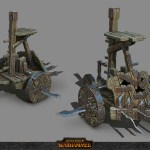 Pump Wagon Concept Art From Artstation Totalwar