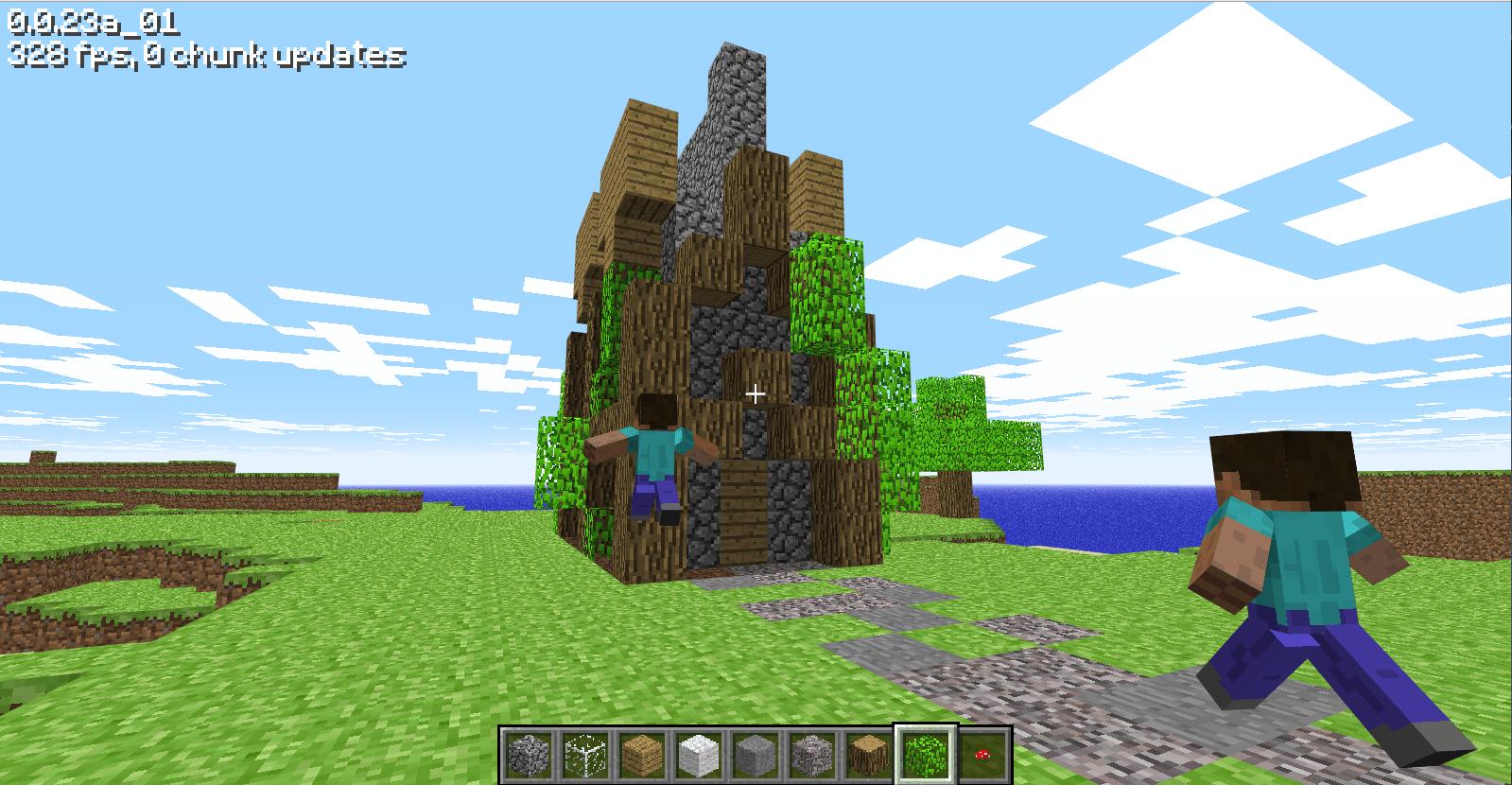 starting minecraft at 2010