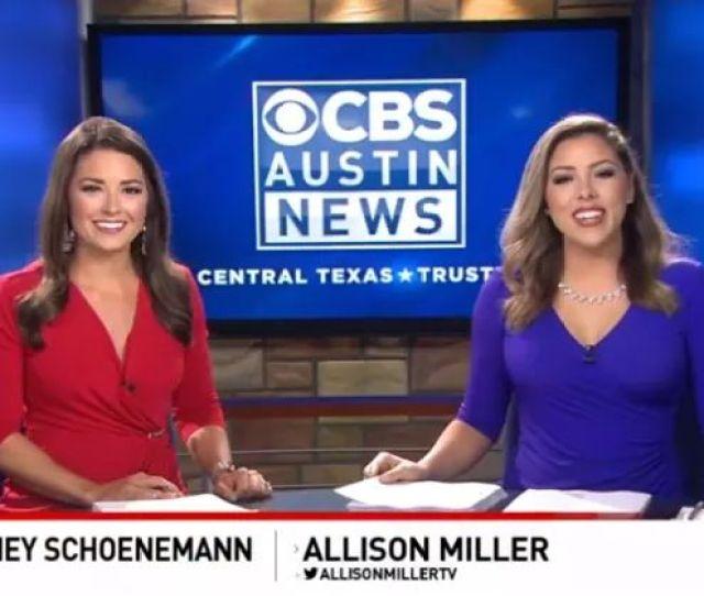Cbs Keye Austin Texas Sexy And Saucy News Anchors Courtney