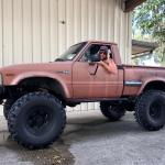 Was Told To Post This Badass 1982 Toyota Hilux Here Til There Was A Hilux Before The Tacoma Toyotapickup