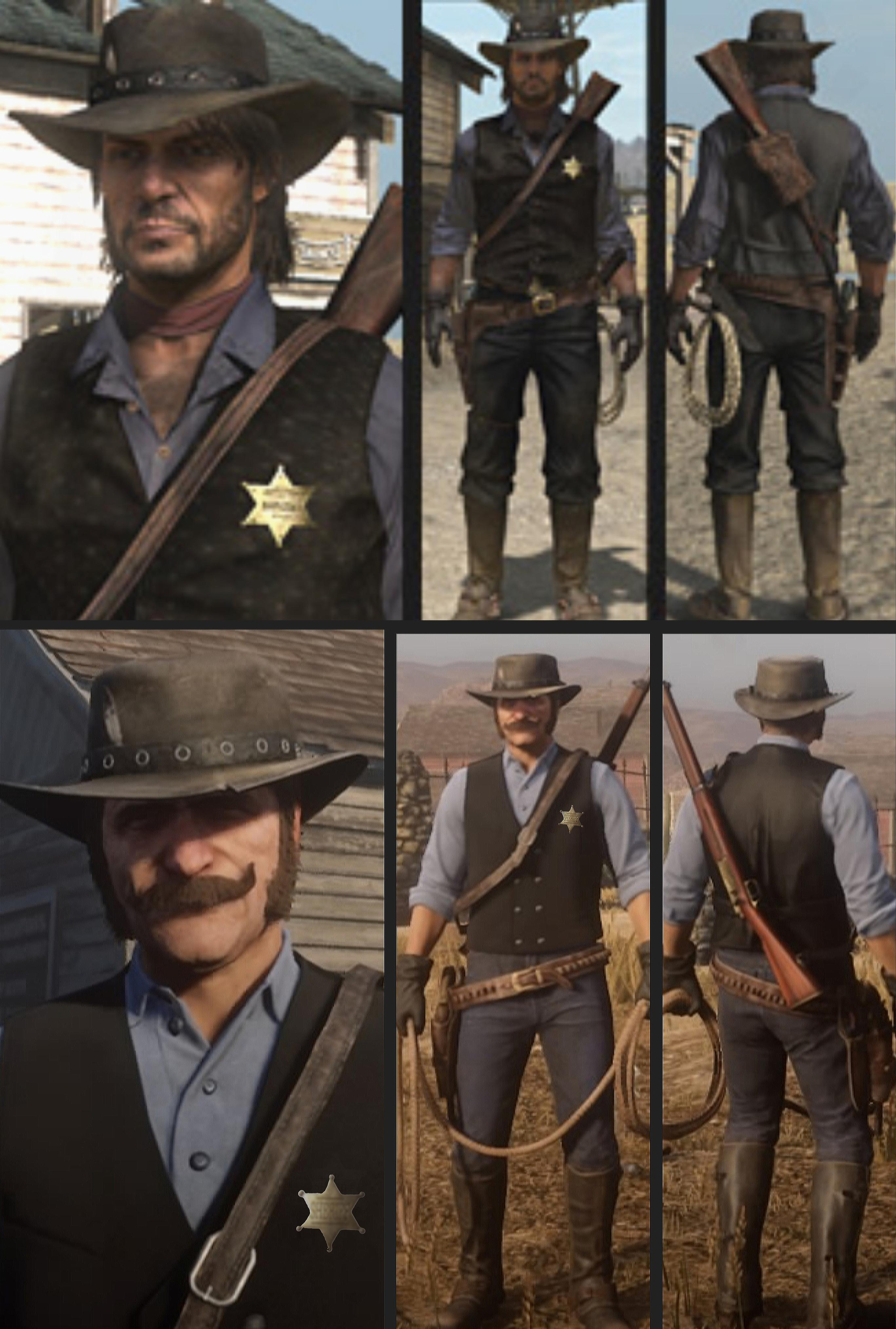 Cool Rdr2 Outfits : outfits,