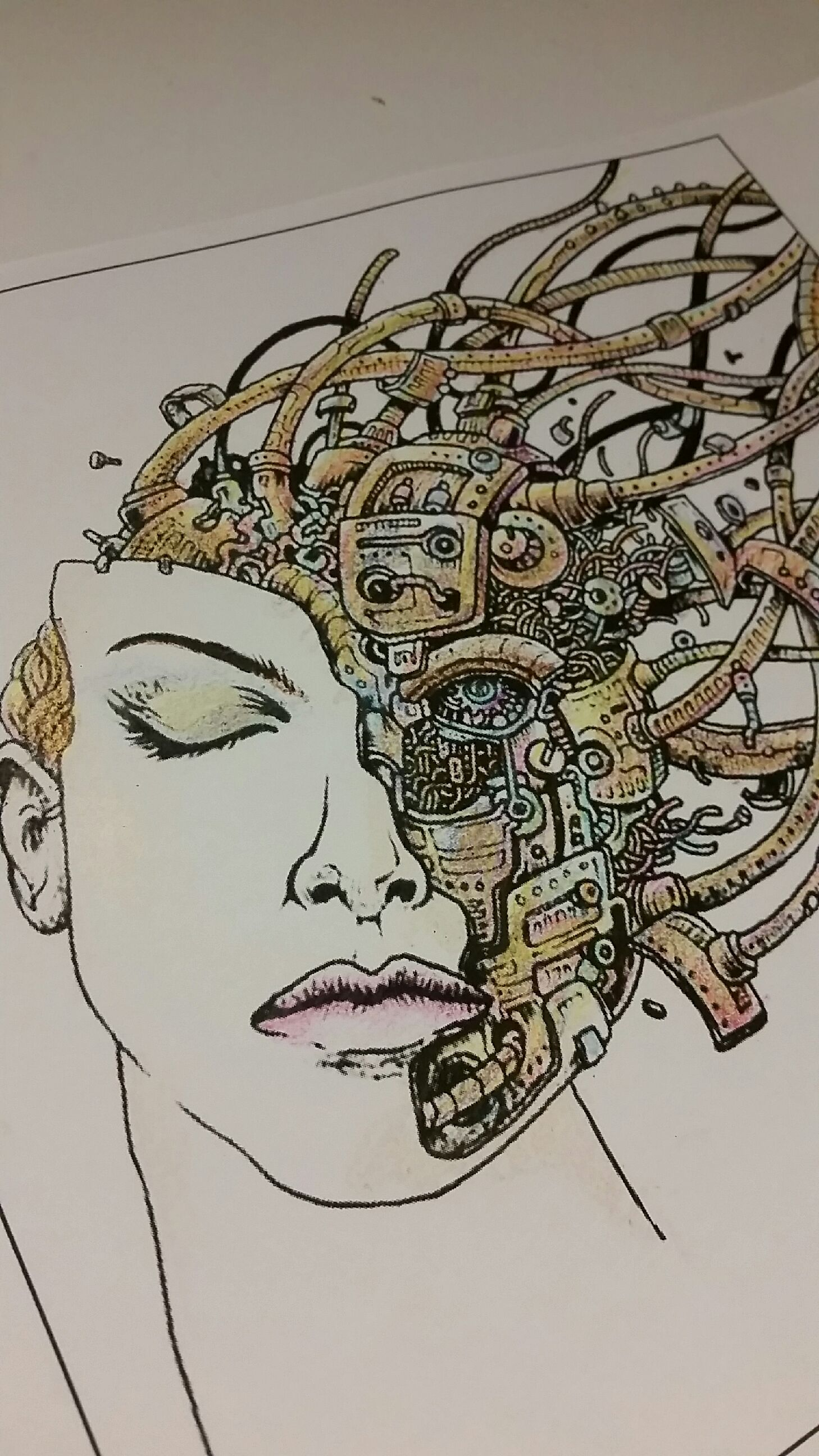 Crayola Crayon Drawing : crayola, crayon, drawing, Colored, Using, Standard, Crayola, Crayons., Drawing, Kerby, Rosanes, Coloring