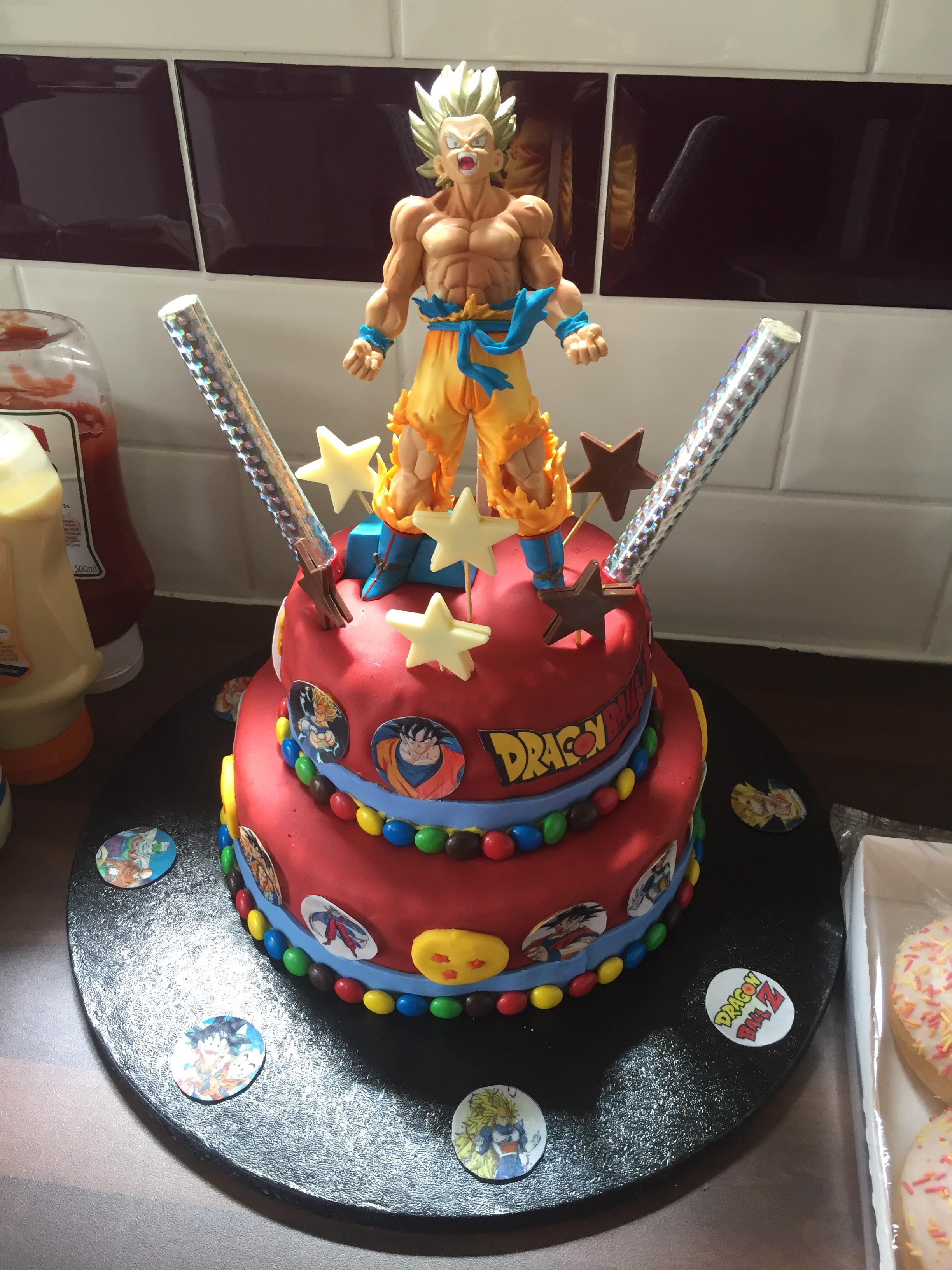 Happy Birthday Dbz : happy, birthday, Brothers, Birthday, Cake!, Happy, Denny!