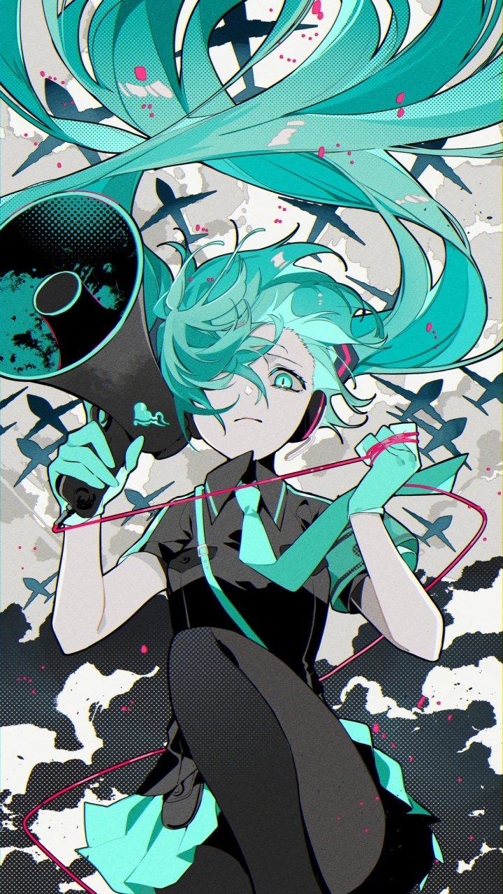Hatsune Miku [VOCALOID] (1152×2048)