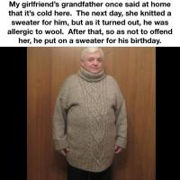 Wholesome grandpa