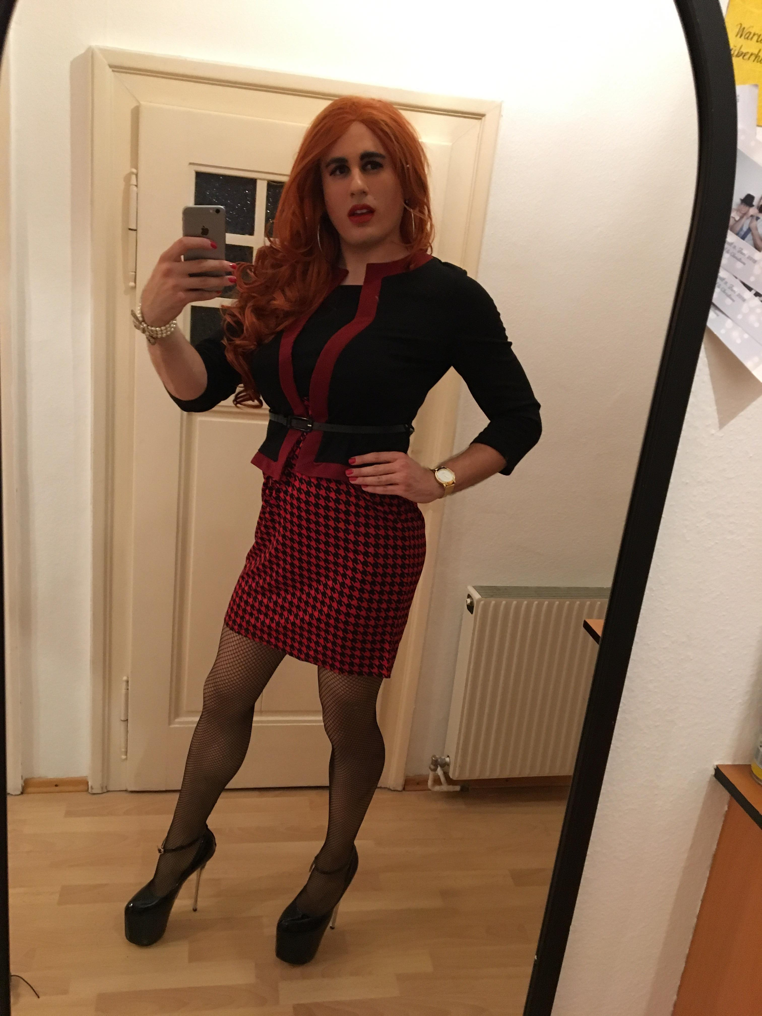 Bought A Business Woman Outfit I Think It Suits Me Quite Well Crossdressing