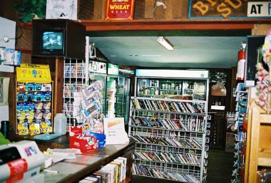 Renting movies at Albertsons. : nostalgia