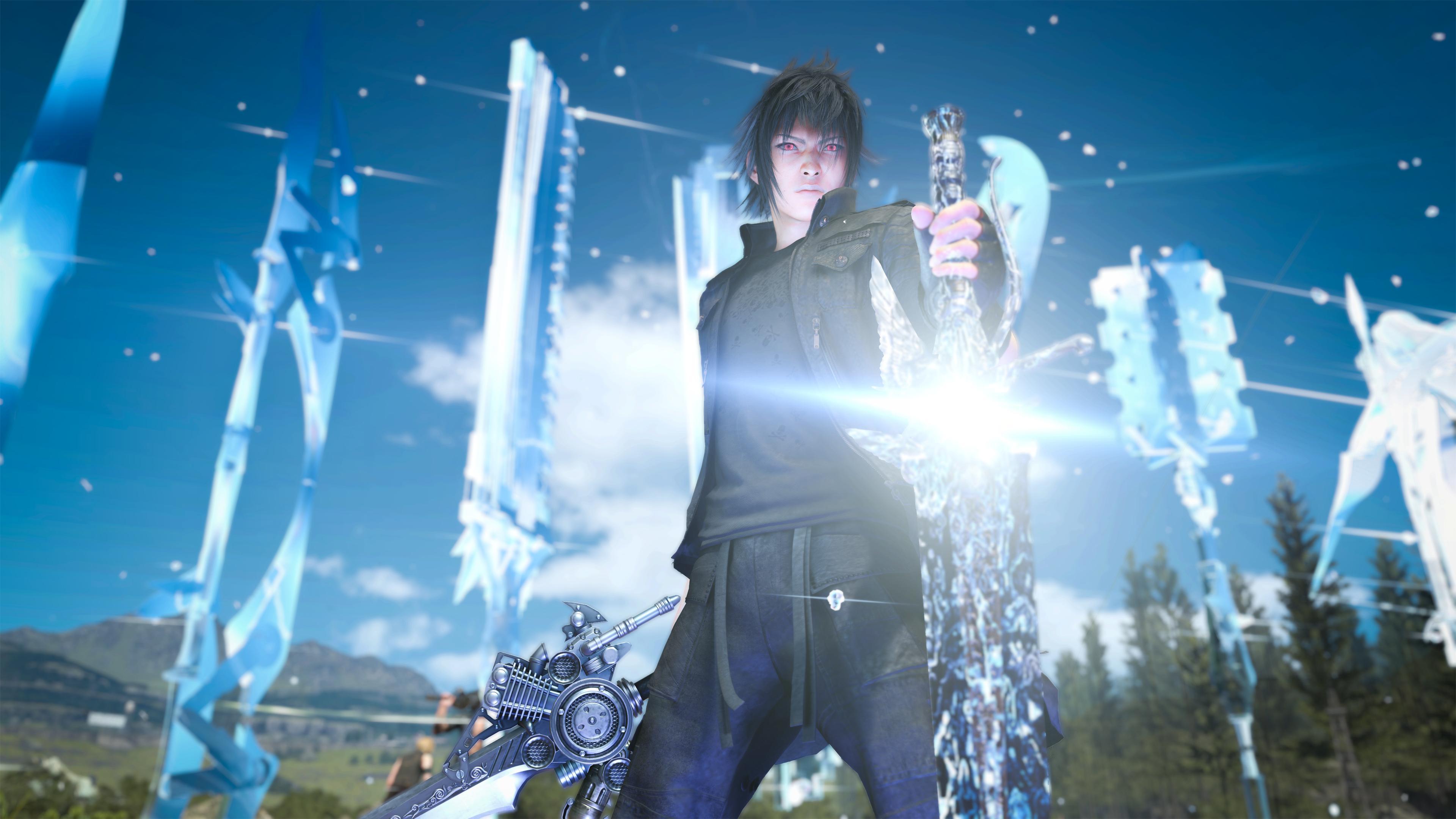 noctis looks pretty cool