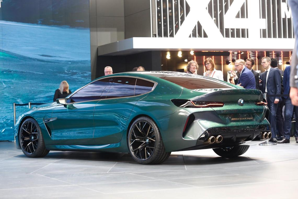 2019 bmw m8 gran coupe - the future is here, no other way to put it
