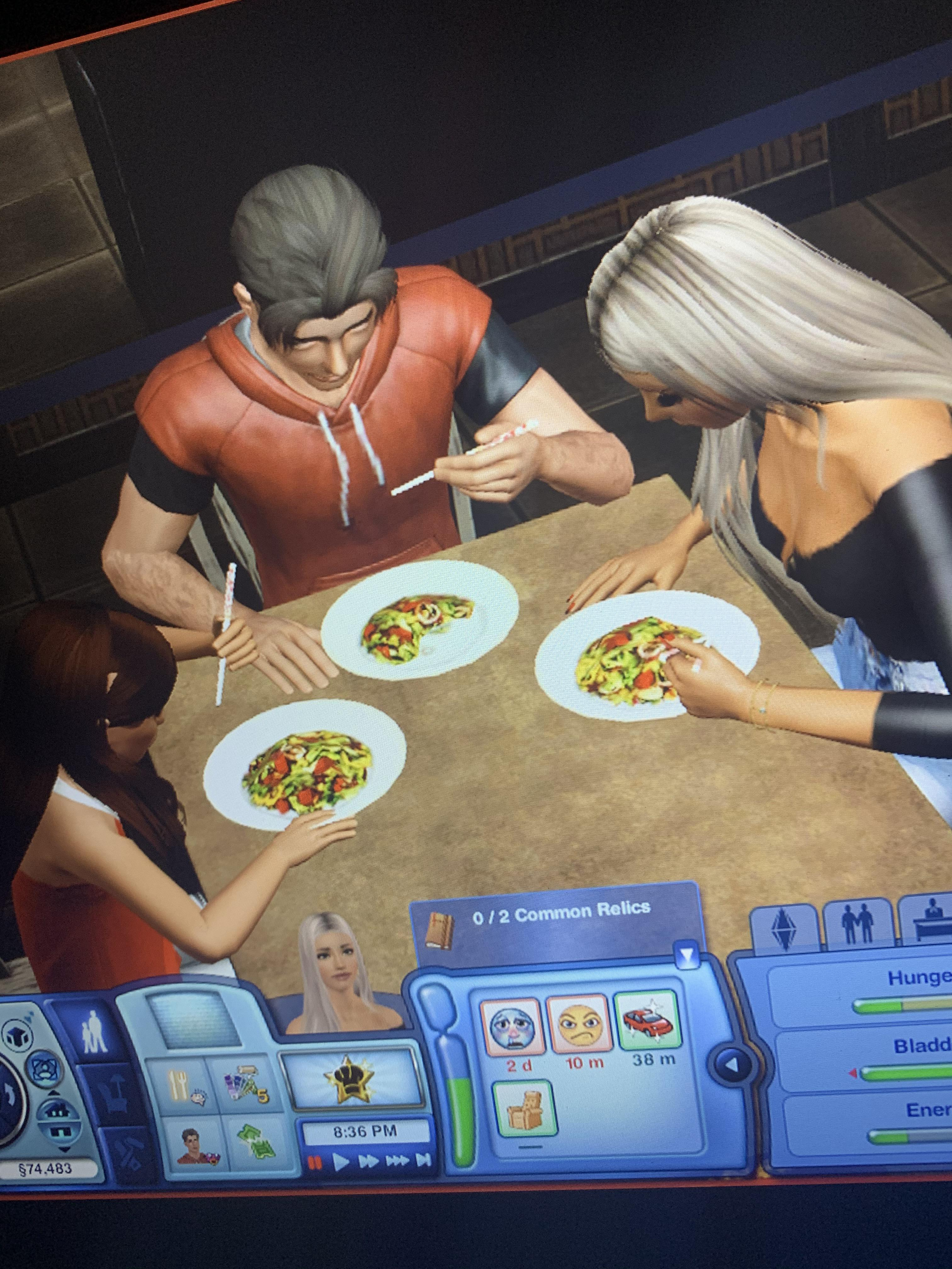 Sims 2 Eat My Baby : Today, Realized, Vacation, China,, Chopsticks!, Sims3