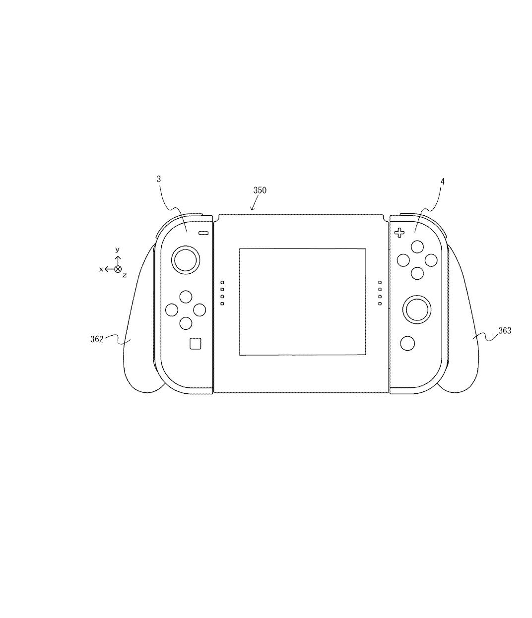 Nintendo Switch Joycon Grip Touchscreen idea. : NintendoSwitch