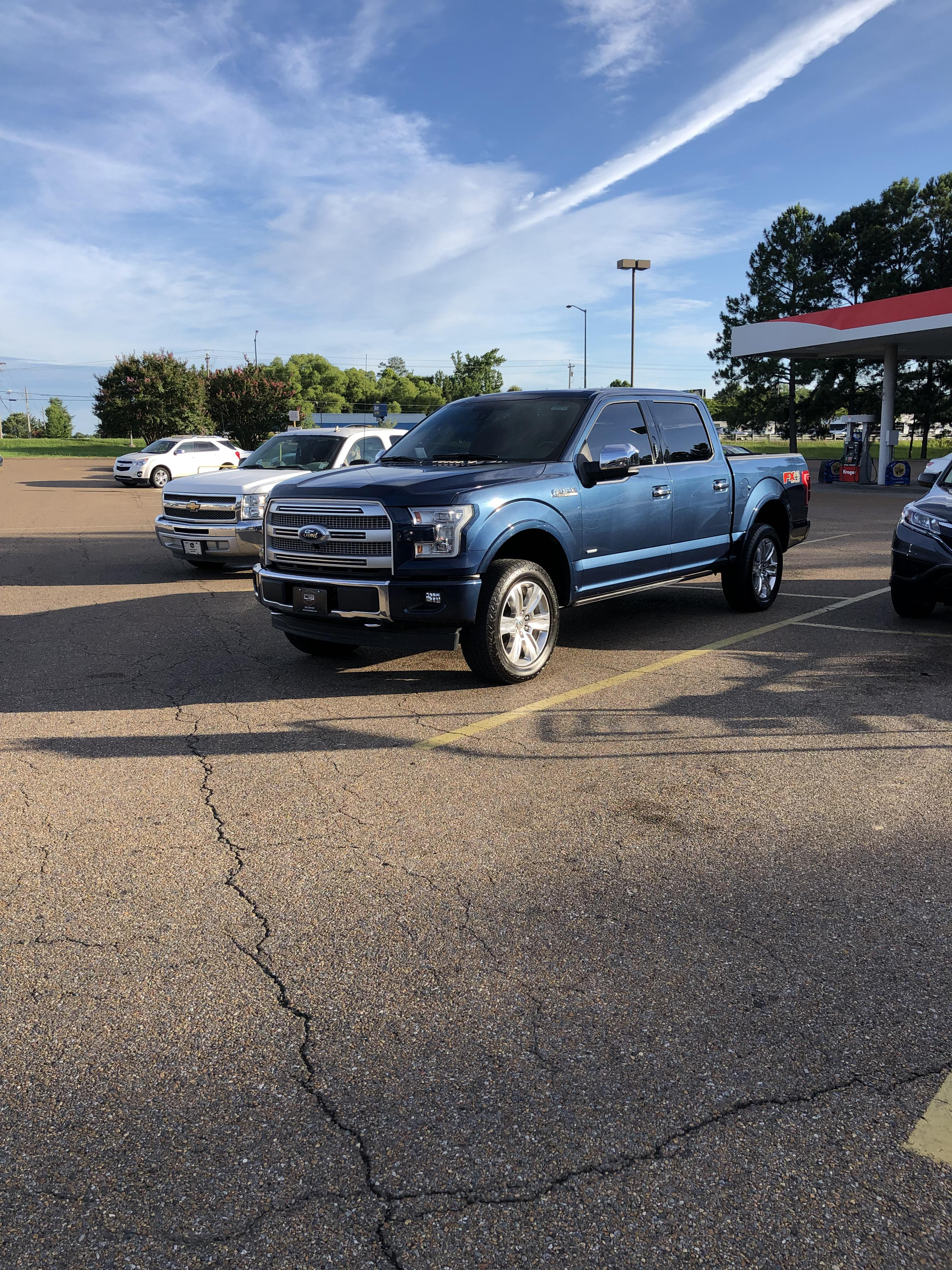 Ford F150 Blue Jeans : jeans, Jeans, Metallic