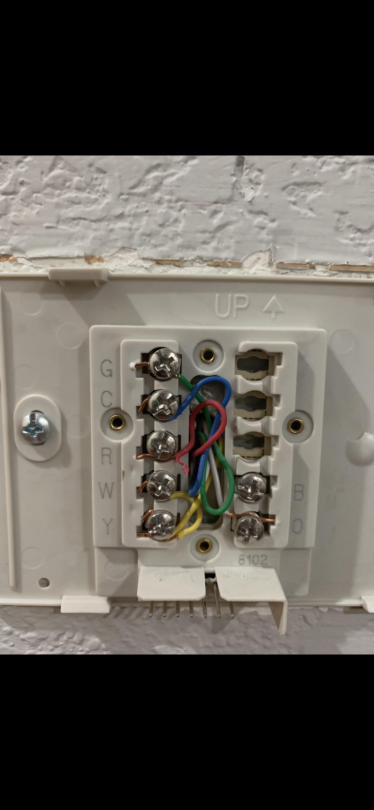 "Thermostat Wiring Honeywell : thermostat, wiring, honeywell, Thermostat, Wiring, Current, Honeywell, ""Y"", ""W"", Shared?!"