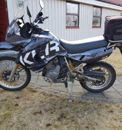 2008 klr650 with a graphic kit in iceland  [ 4032 x 3024 Pixel ]