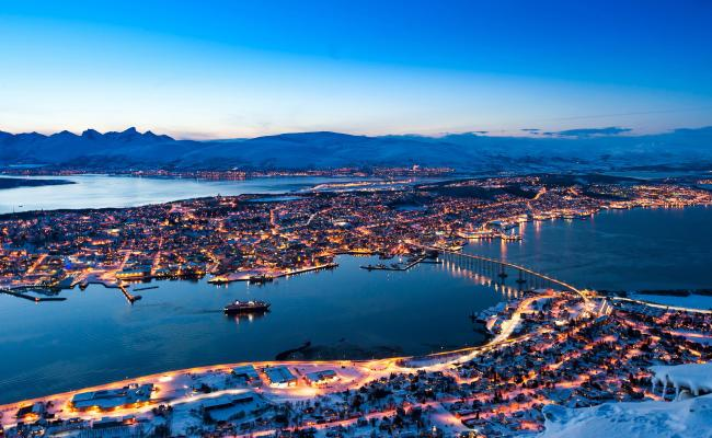 Tromsø Norway 3500x2000 Cityporn