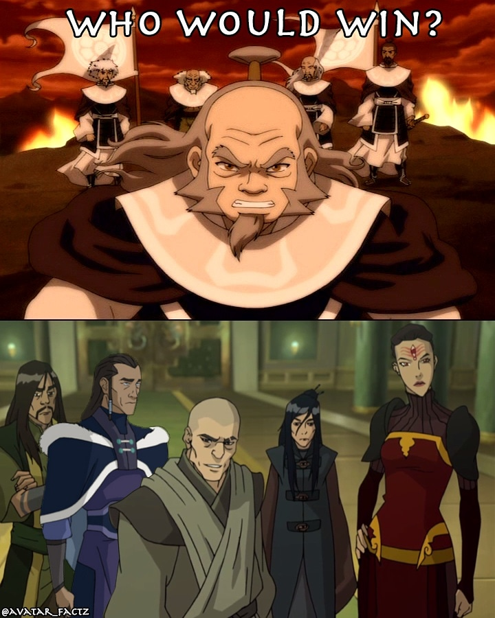 White Lotus Members : white, lotus, members, White, Lotus, Lotus?, TheLastAirbender