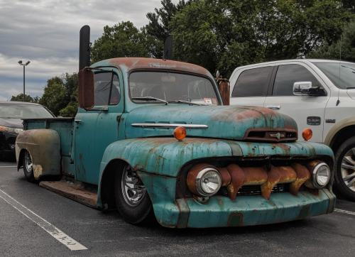 small resolution of  51 52 ford f1 with beautiful patina
