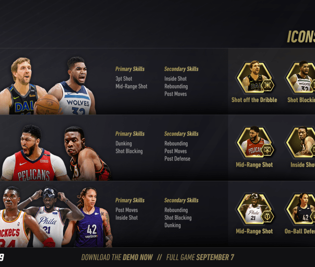Nba Live 19 Playstyle Guide Bigs