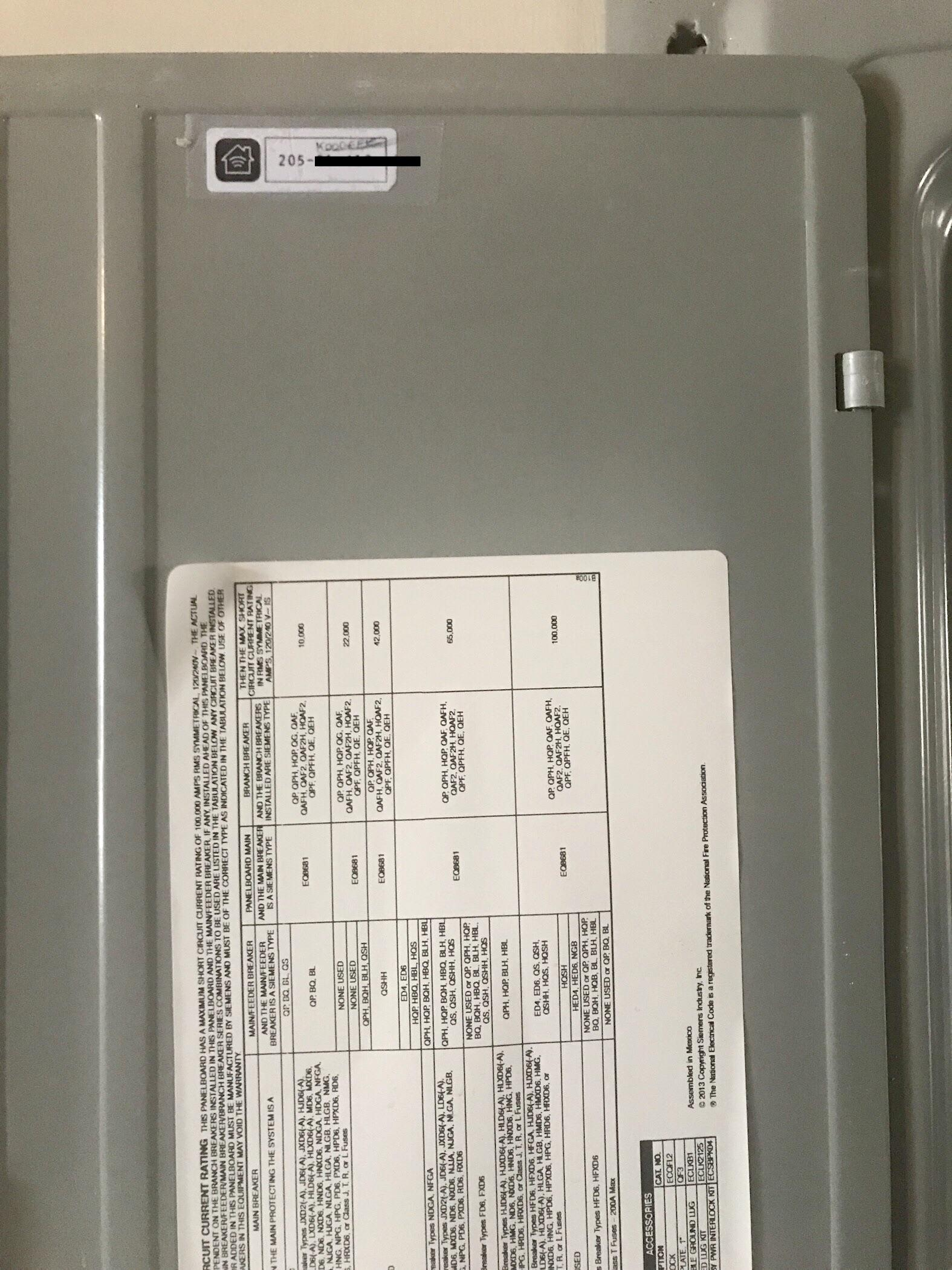hight resolution of tip layout homekit codes in the fuse box with switch codes next to rh reddit com house electrical fuse boxes house electrical fuse boxes