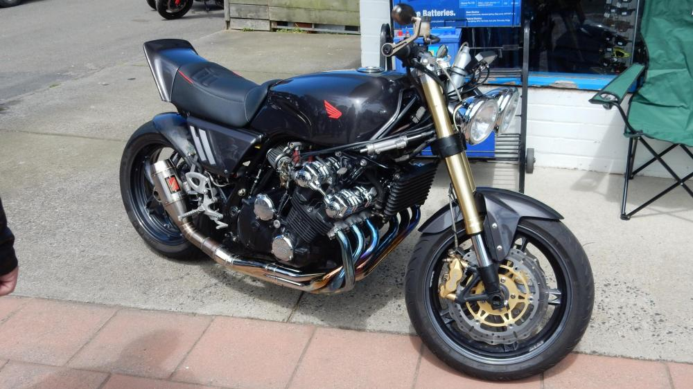 medium resolution of highly modified honda cbx 1000 i saw at a bike meet this guy s put a lot of work into it
