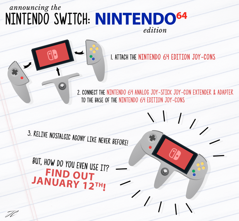 medium resolution of mock upannouncing the nintendo switch n64 edition oc