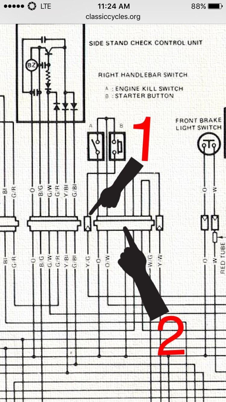 1981 Suzuki Gs450l Wiring Diagram Suzuki Gs550 Wiring
