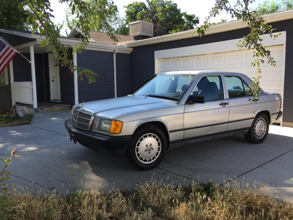 medium resolution of just bought this 190e with plans of turning it into a track car it broke down on my way home but i ve got high hopes