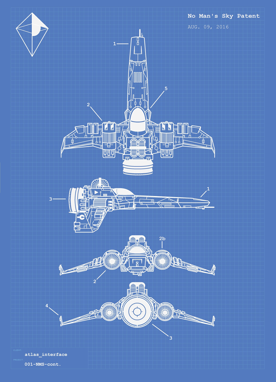 starship blueprints nomansskythegame