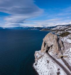 cave rock lake tahoe mavic pro 1st gen edited in lightroom  [ 3992 x 2992 Pixel ]