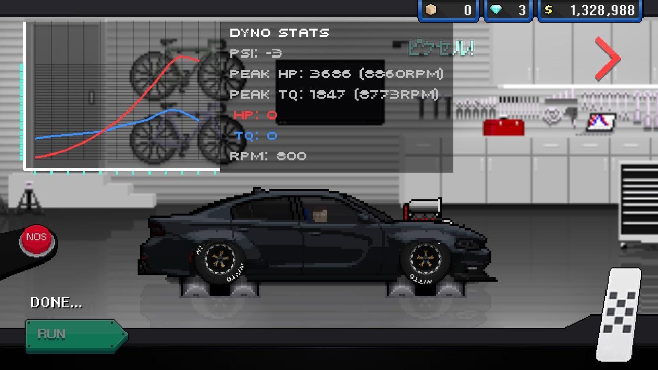 pixel car racer most