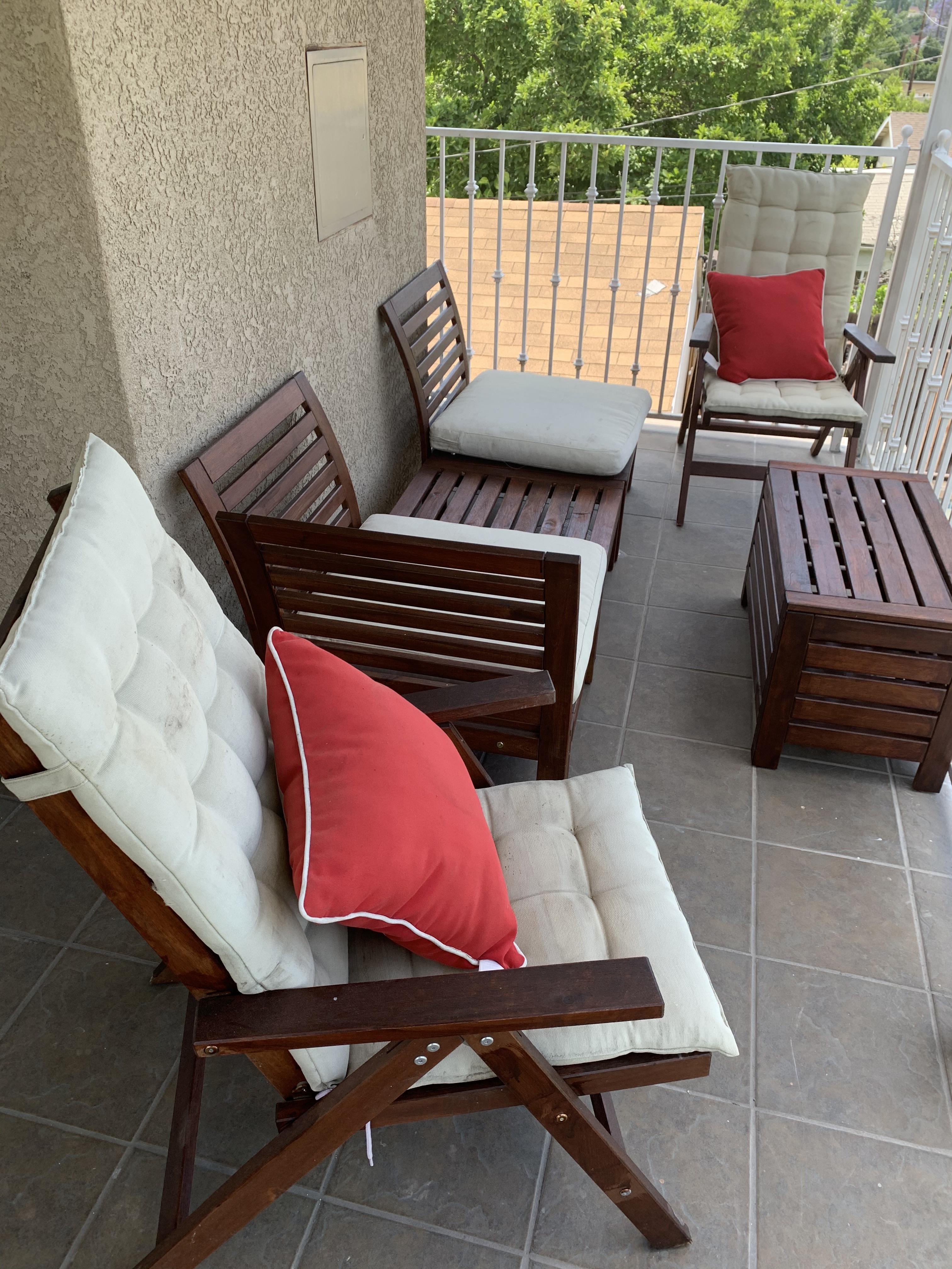 ikea applaro patio furniture