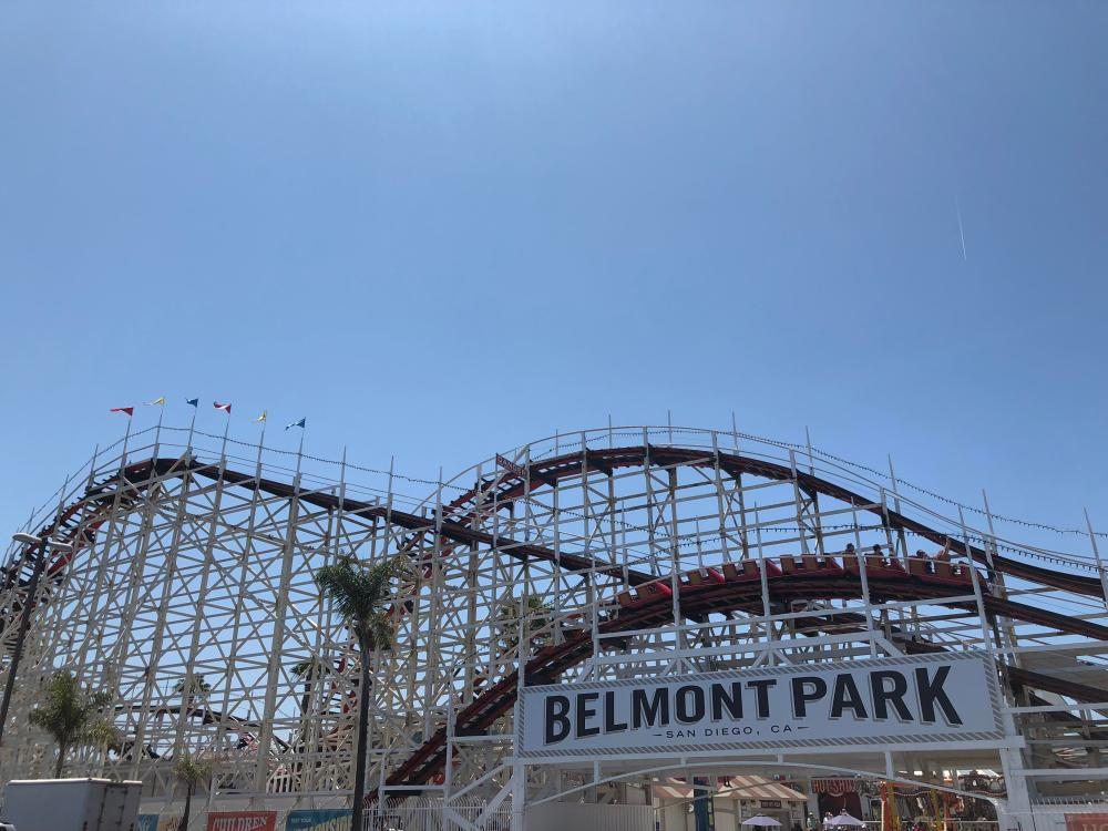 medium resolution of photojust rode giant dipper at belmont park great ride for being 94 years old