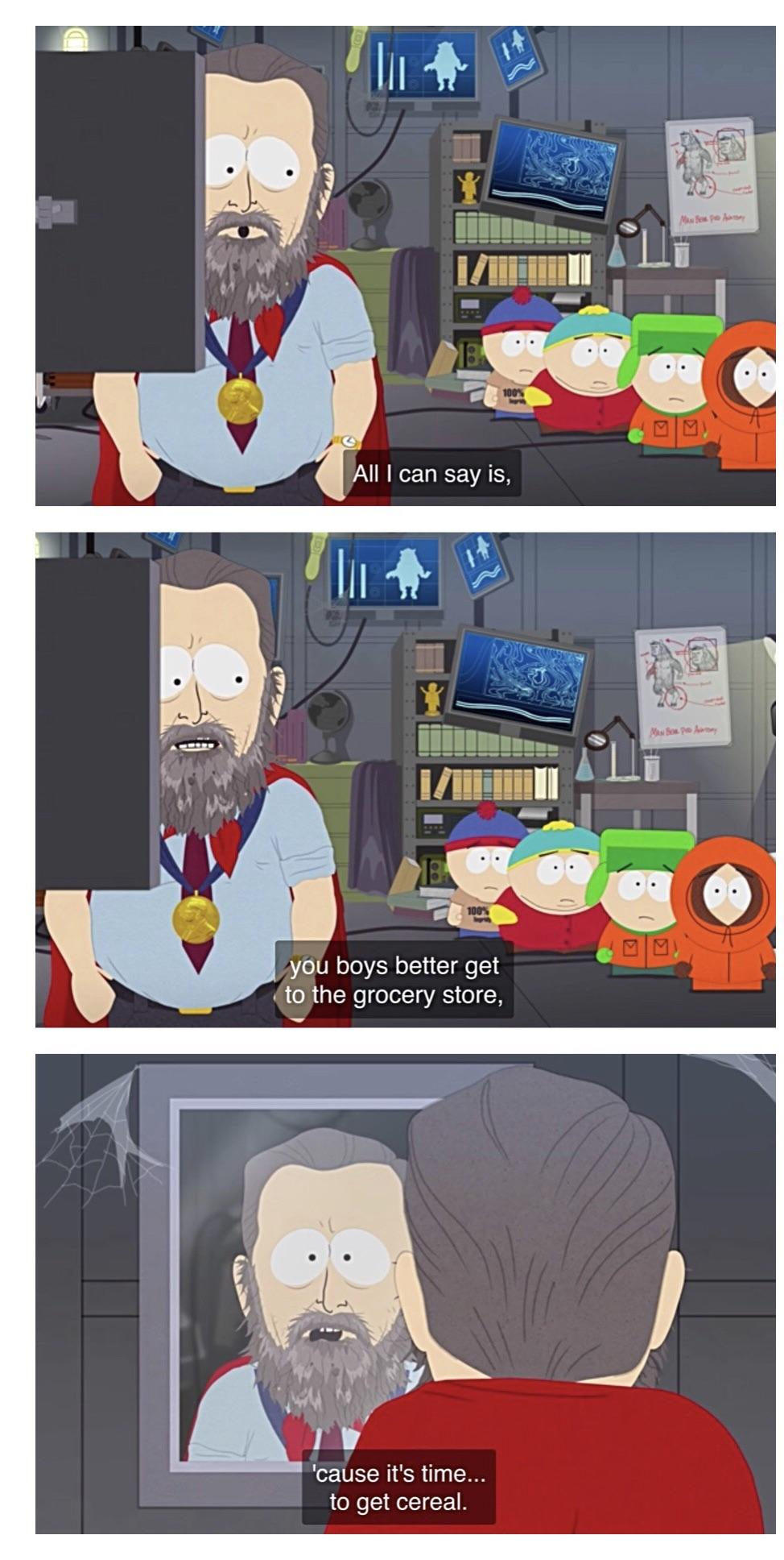 South Park Time To Get Cereal : south, cereal, Favorite, Moment, Season, Southpark