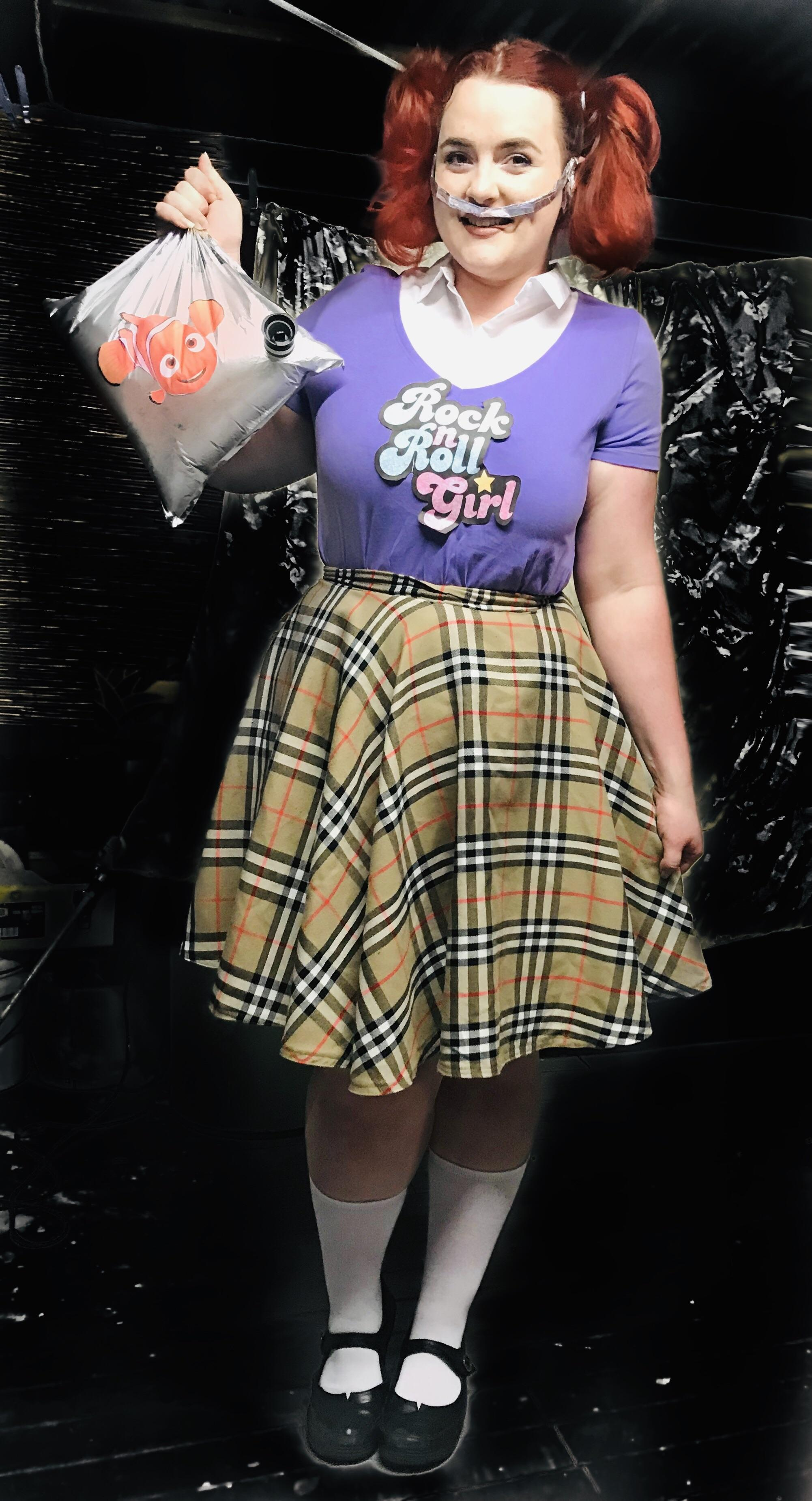 I Made Pretty Much This Whole Costume Darla From Finding