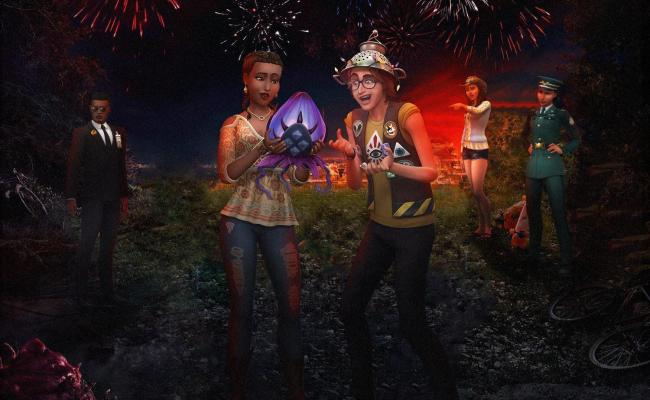 Sims 4 Strangerville Poster Inspired By Stranger Things