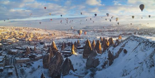 cappadocia snow ile ilgili görsel sonucu