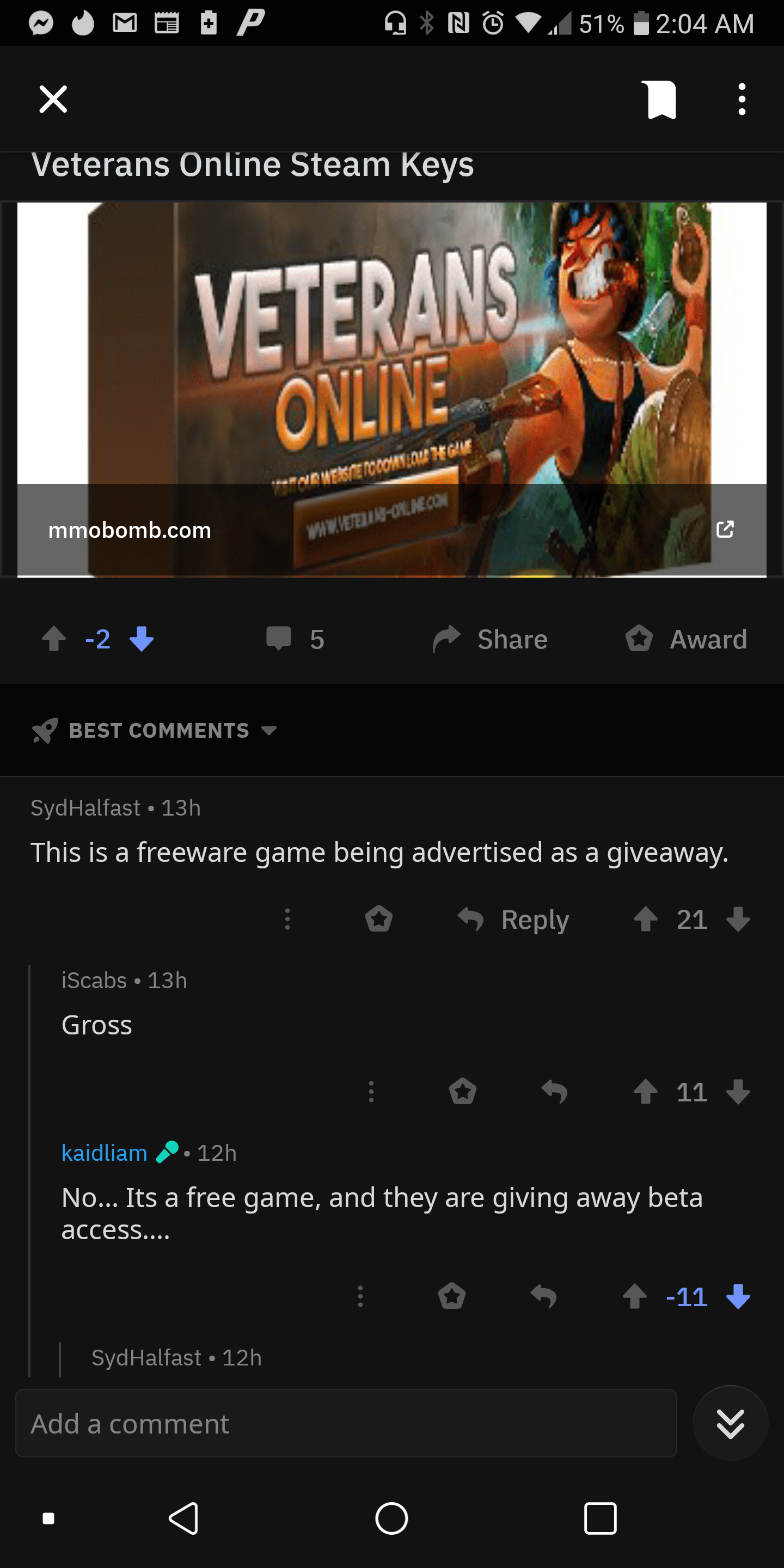 Just unsubbed from r/freegames this subreddit is full of cancerous spam. Waste of time trying to look for a free game. : JustUnsubbed