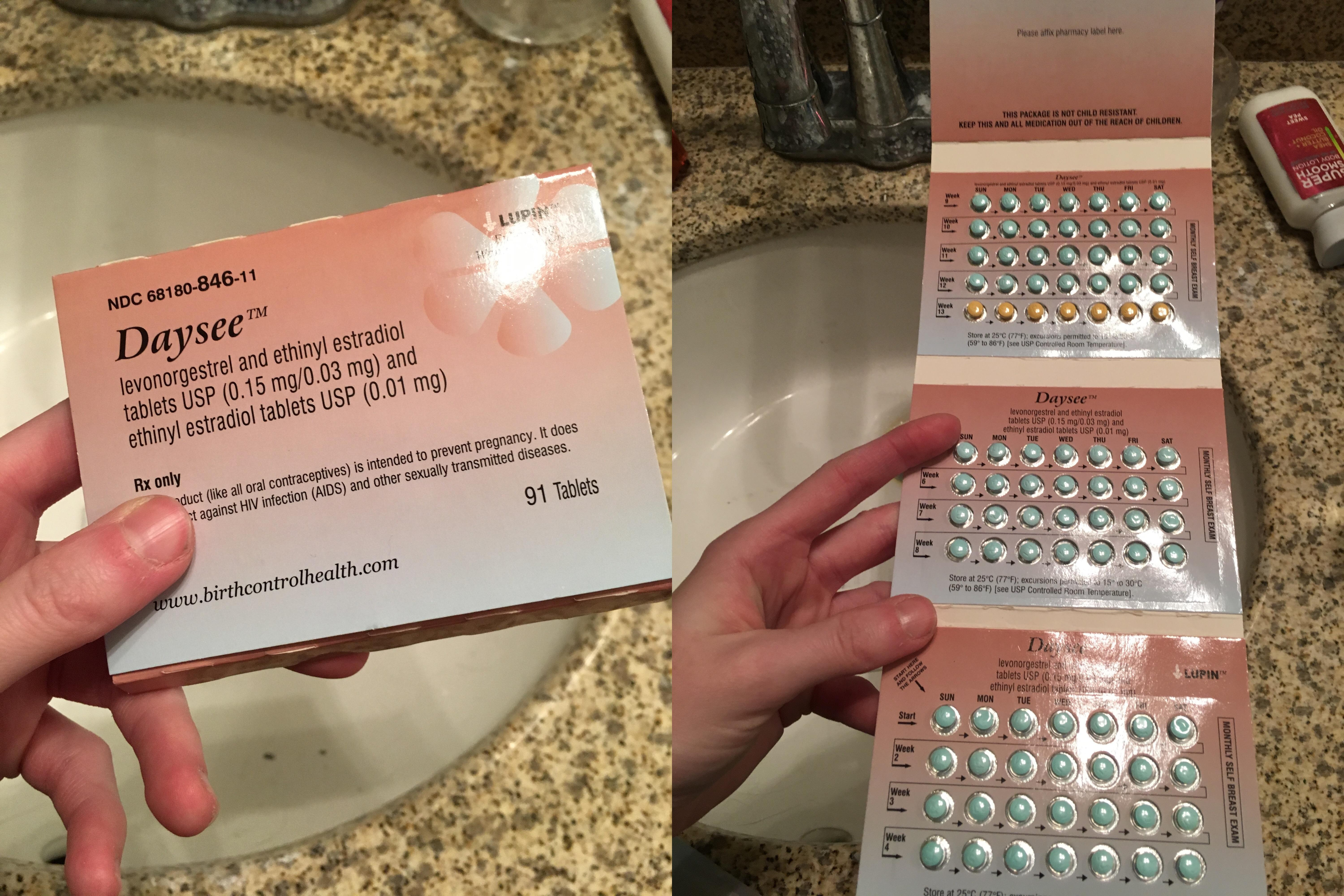 Extended Cycle Birth Control Pills Fold Out And Start With ...