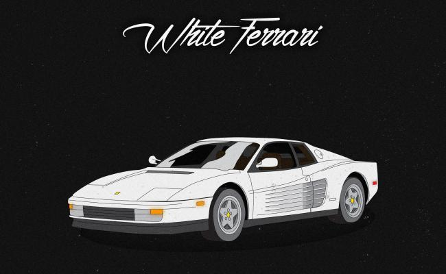 White Ferrari Frank Ocean Cute766