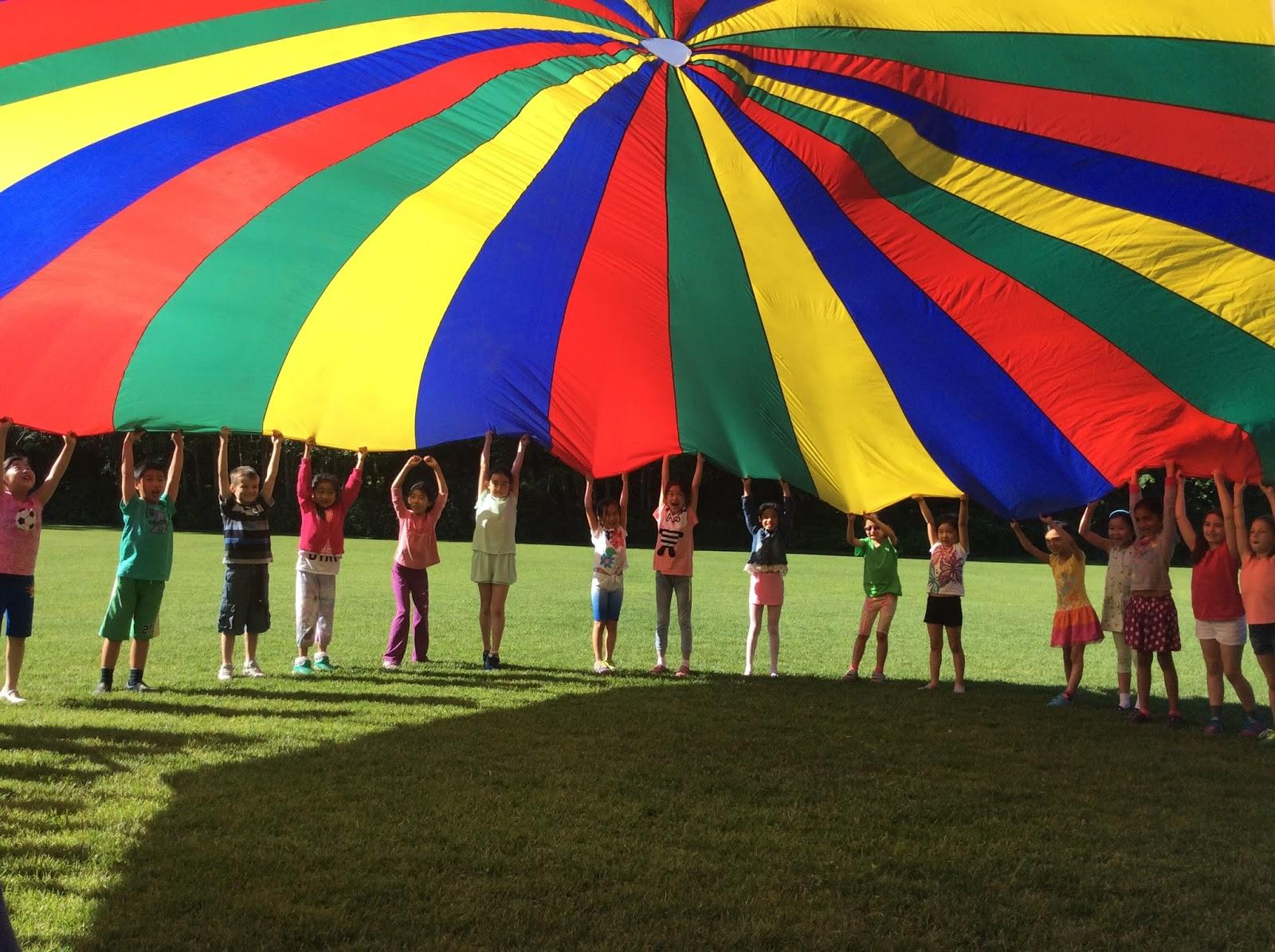 The Rainbow Parachute In Grade School Gym Class That You
