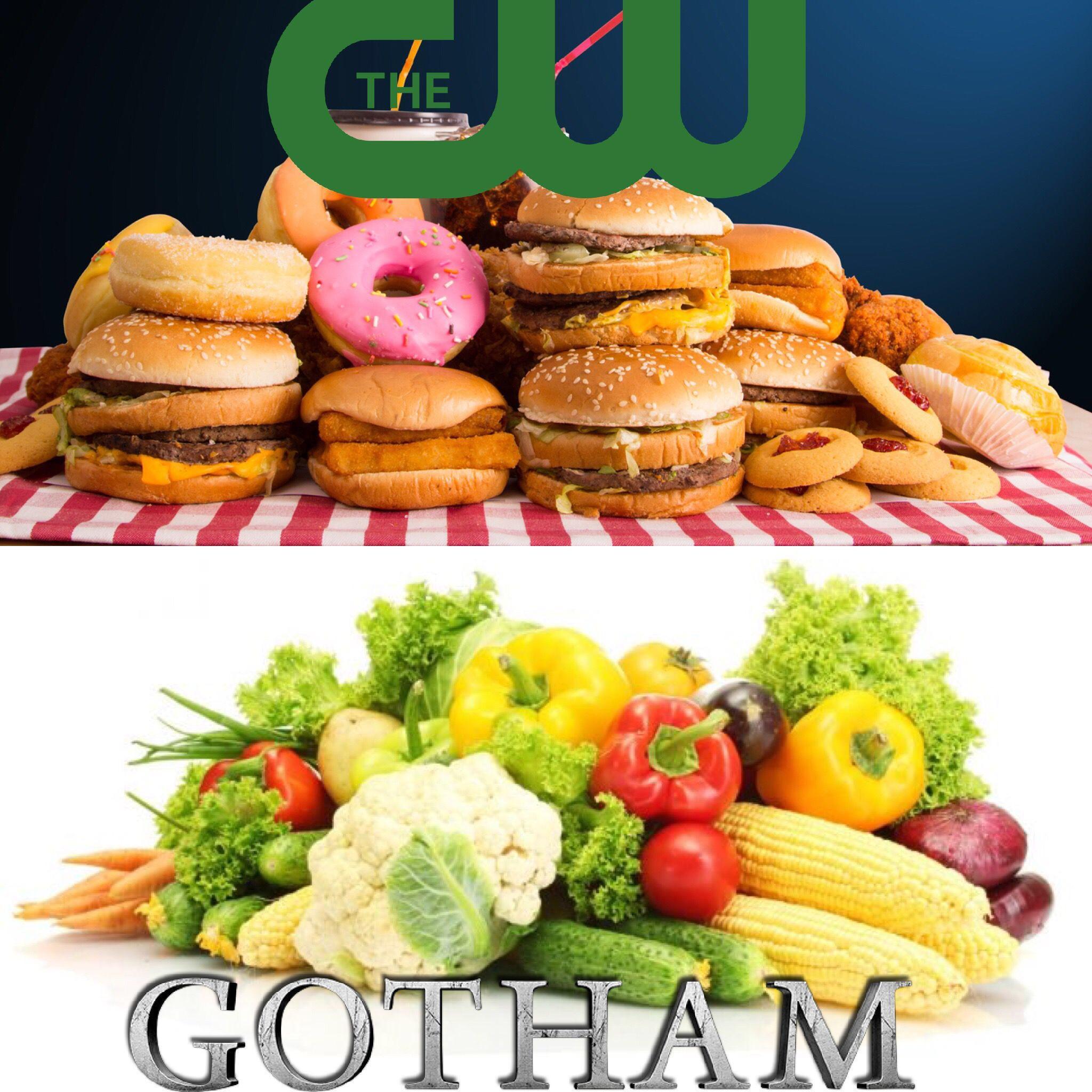 Shitpost Junk Food Vs Healthy Food Gotham