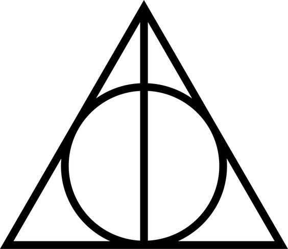 I keep seeing this triangle-circle symbol recently, as a