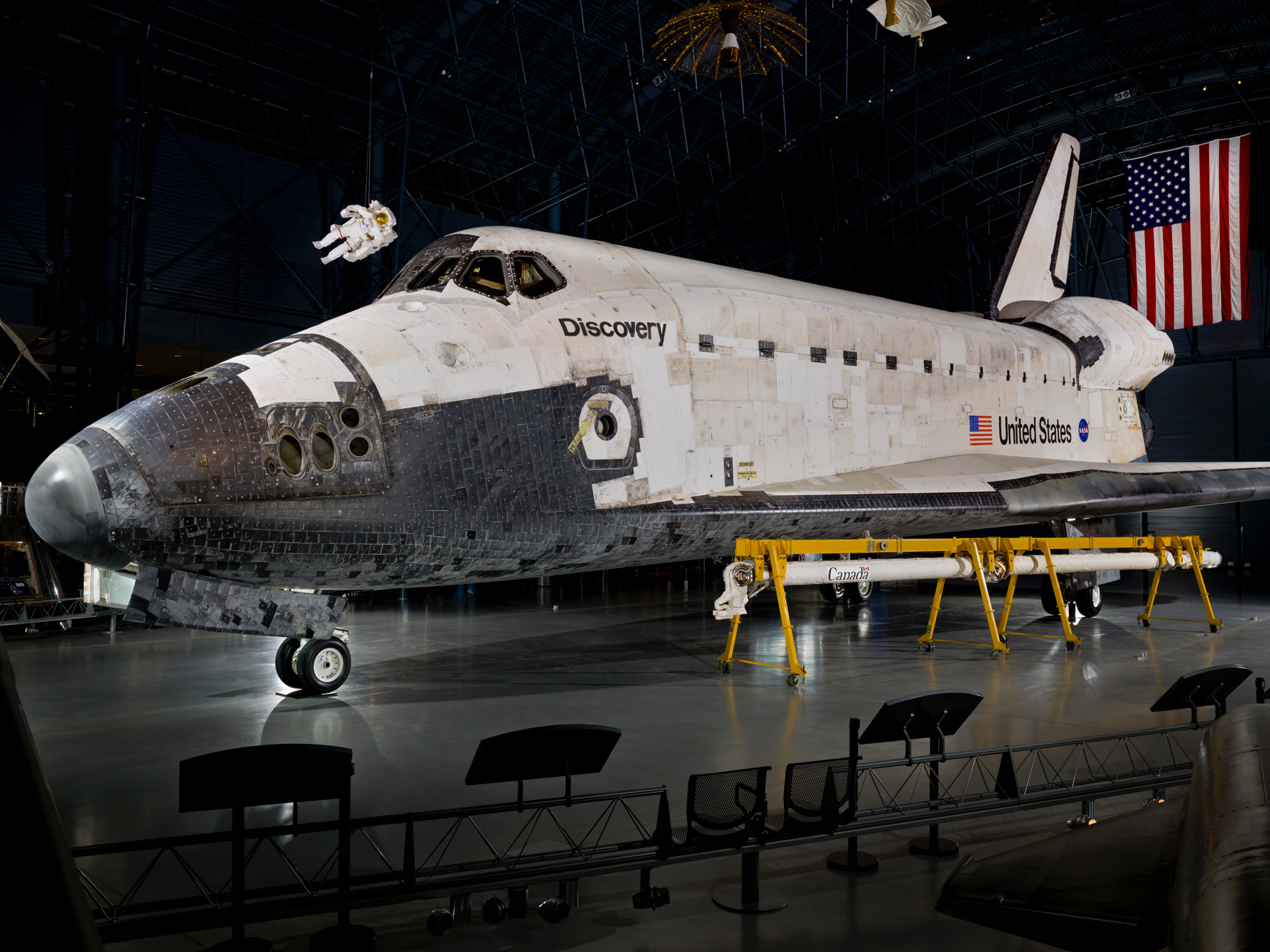 March 9. 2011 - Space Shuttle Discovery completed its final mission. : MURICA