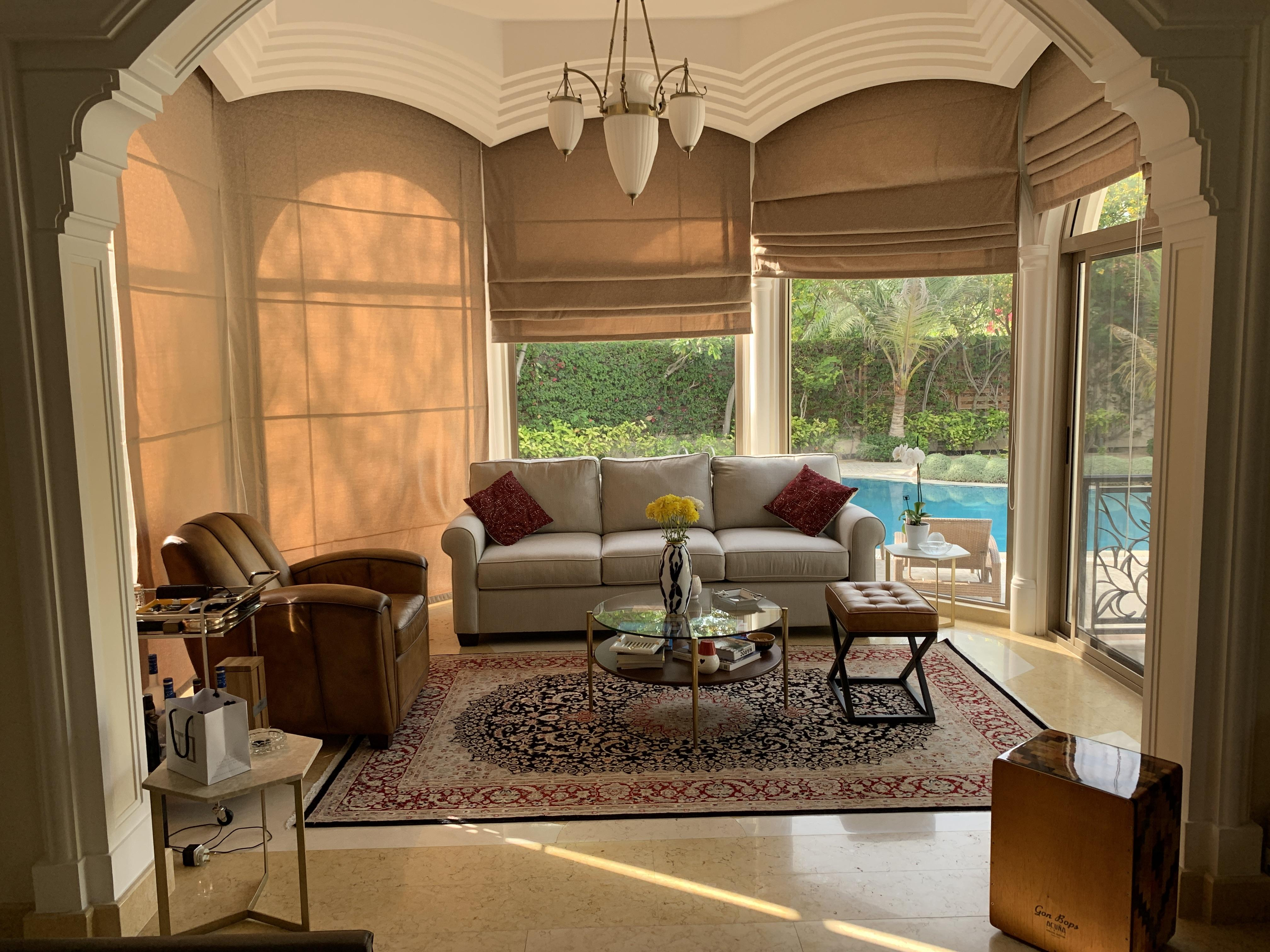 Moroccan Inspired living room Saar  Bahrain