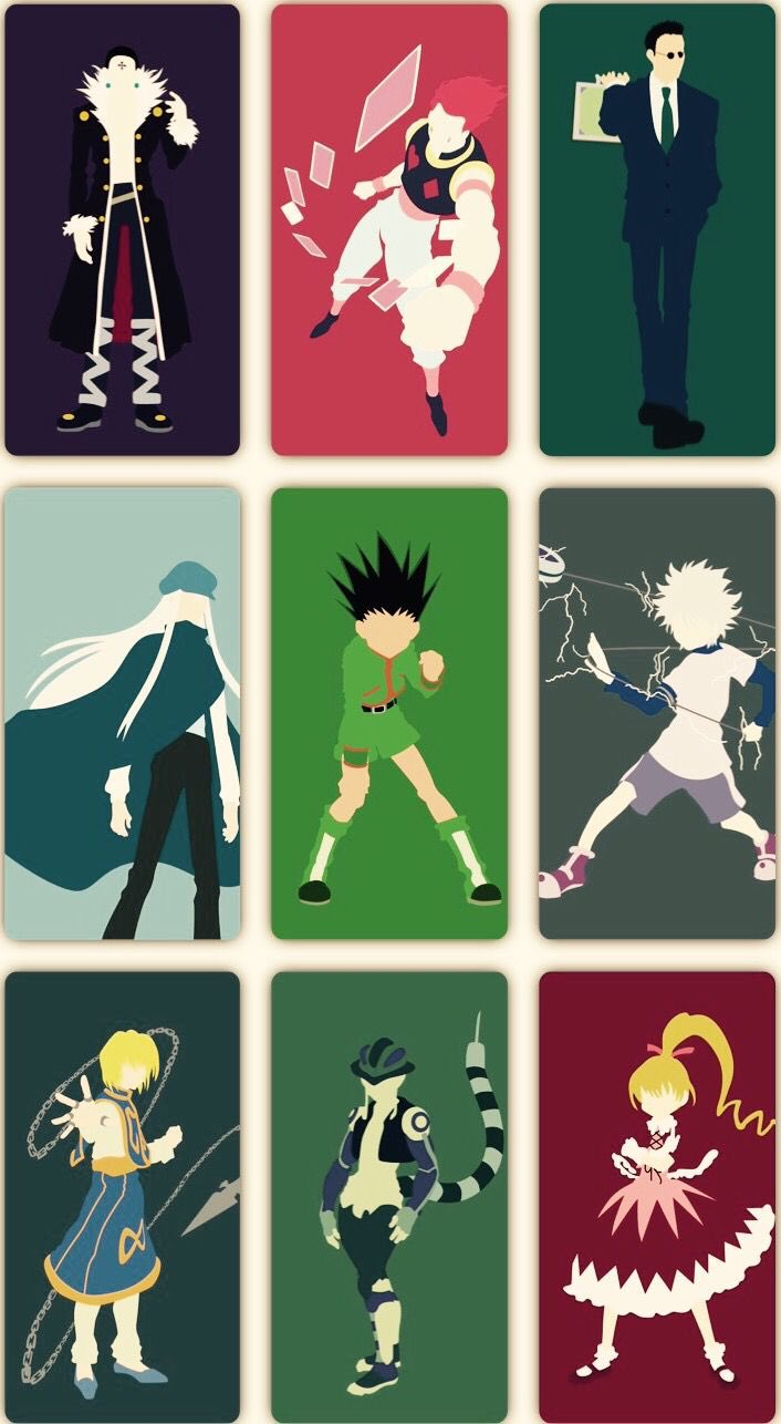 I deleted all my anime pictures & wallpapers for no reason xdd and changed my wallpaper just to see. Awesome Hunter x Hunter lockscreen wallpaper : HunterXHunter