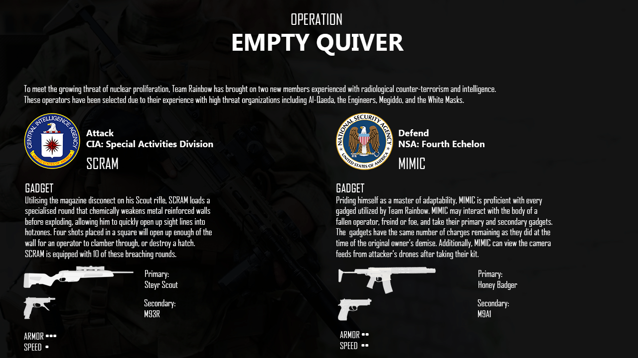 operation empty quiver two