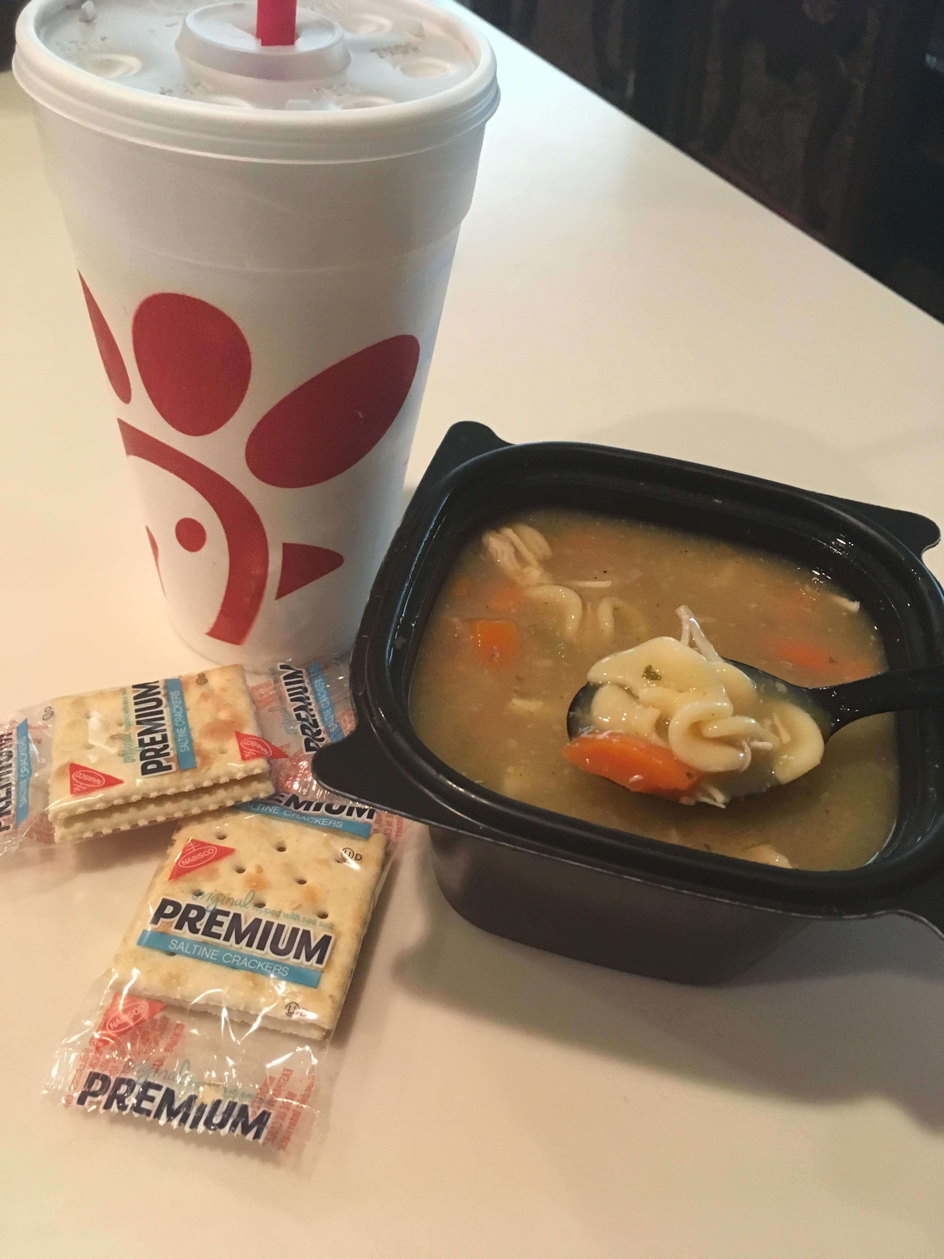 Chick Fil A Soup Nutrition Small - NutritionWalls