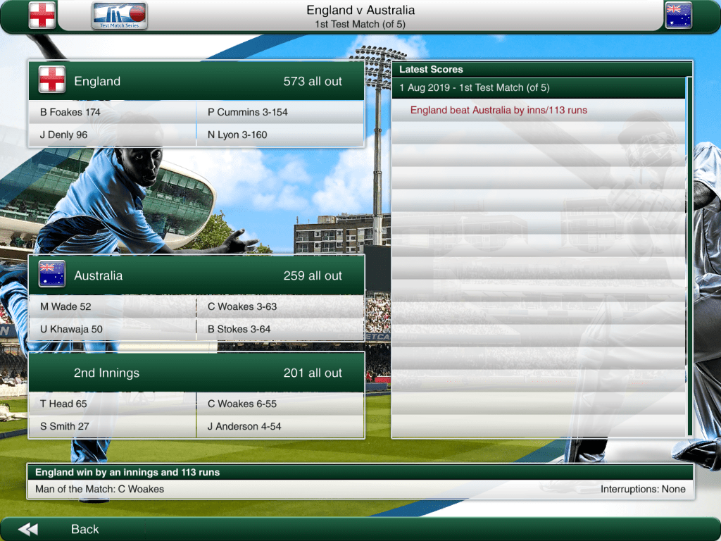I've finally figured out how to play Cricket Captain ...